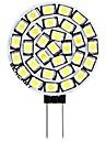 SENCART 1pc 3 W 180 lm G4 LED a Double Broches T 30 Perles LED SMD 2835 Decorative Blanc Chaud / Blanc 12 V