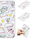 Case For Apple iPhone XS / iPhone XS Max Pattern Back Cover Unicorn Soft TPU for iPhone XS / iPhone XR / iPhone XS Max