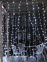 6m String Lights 600 LEDs White Decorative 220-240 V 1 set