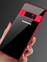 מגן עבור Samsung Galaxy Note 9 / Note 8 ציפוי / אולטרה דק / שקוף כיסוי אחורי אחיד רך TPU ל Note 9 / Note 8