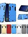 Etui Käyttötarkoitus Samsung Galaxy J4 Iskunkestävä / Tuella Takakuori Yhtenäinen Kova PC varten J4 Plus