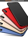 taske til Apple iPhone xr xs xs max ultra-tynd / frostet bagcover solid farvet hard pc til iphone x 8 8 plus 7 7plus 6s 6s plus se 5 5s