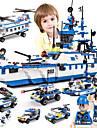 SHIBIAO ブロックおもちゃ 軍用ブロック 建設セット玩具 1230 pcs 航海 軍隊 軍艦 互換性のある Legoing DIY コンテンポラリー クラシック クラシック・タイムレス ボート 航空母艦 男の子 女の子 おもちゃ ギフト / 知育玩具