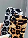Case Kompatibilitás Apple iPhone XR / iPhone XS Max Ultra-vékeny Fekete tok Leopárd minta Puha PU bőr mert iPhone XS / iPhone XR / iPhone XS Max