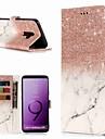 Carcasă Pro Samsung Galaxy S9 / S8 Plus Peněženka / Pouzdro na karty / se stojánkem Celý kryt Mramor Pevné PU kůže pro S9 / S9 Plus / S8 Plus