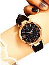 Жен. Наручные часы Кварцевый 30 m Защита от влаги Творчество PU Группа Аналоговый Винтаж Мода Черный / Коричневый / Серый - Лиловый Коричневый Зеленый