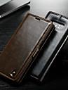 CaseMe מגן עבור Samsung Galaxy Note 9 / Note 8 ארנק / מחזיק כרטיסים / עם מעמד כיסוי מלא אחיד קשיח עור PU ל Note 9 / Note 8 / Note 5