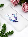 Huelle Fuer Sony Xperia XZ2 Compact / Xperia XZ2 Transparent / Muster Rueckseite Feder Weich TPU fuer Xperia XZ2 / Sony Xperia XZ3 / Xperia XZ2 Compact
