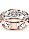 Women\'s Multicolor Classic Ring - Copper European, Trendy, Romantic Jewelry Rose Gold For Wedding Date 6 / 7 / 8 / 9 / 10