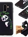 غطاء من أجل Samsung Galaxy A8 Plus 2018 / A7 (2018) نموذج غطاء خلفي باندا ناعم TPU إلى A6 (2018) / A6+ (2018) / A7(2018)