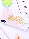 Coque Pour Apple iPhone XR / iPhone XS Max Motif Coque Bande dessinee / Fruit / Marbre Flexible TPU pour iPhone XS / iPhone XR / iPhone XS Max