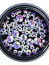100 pcs Kunstdiamanten Kristal / Ministijl / Comfortabel Passend Sieraden Series Romantische serie Nagel kunst Manicure pedicure Kerstmis / Speciale gelegenheden / Halloween Romantisch / Zoet