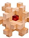 קוביות קסמים פאזלים מעץ אתגרי חשיבה IQ רמה מקצועית מהירות עץ 12pcs קלסי ונצחי בנים מתנות