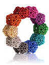 216 pcs Magnet Toy Magnetic Toy Magnetic Balls Magnet Toy Stress and Anxiety Relief Focus Toy Office Desk Toys Monkey Teenager / Intermediate Toy Gift / DIY