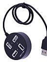 Зарядное устройство для дома / Портативное зарядное устройство Зарядное устройство USB USB Несколько разъемов / КК 2.0 4 USB порта 2 A DC 12V для iPhone X / iPhone 8 Pluss / iPhone 8