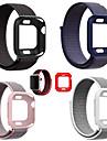 Bracelet de Montre  pour Apple Watch Series 4/3/2/1 Apple Bracelet Sport Silikon / Nylon Sangle de Poignet