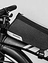 1.2 L Bisiklet Çerçeve Çantaları Su Geçirmez Taşınabilir Giyilebilir Bisiklet Çantası 600D Polyester Bisikletçi Çantası Bisiklet Çantası Dış Mekan Egzersizi Bisiklet