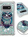 Case For Samsung Galaxy S9 Plus / S8 Shockproof / Flowing Liquid / Transparent Back Cover Owl / Glitter Shine Soft TPU for S9 / S9 Plus / S8 Plus