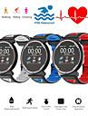 Indear ST1 Unisex Uita-te inteligent Android iOS Bluetooth Rezistent la apă Touch Screen Monitor Ritm Cardiac Măsurare Tensiune Arterială Sporturi Pedometru Reamintire Apel Monitor de Activitate