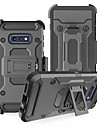 Pouzdro Uyumluluk Samsung Galaxy Galaxy S10 / Galaxy S10 Plus Şoka Dayanıklı Arka Kapak Zırh Sert TPU / PC için S9 / S9 Plus / S8 Plus